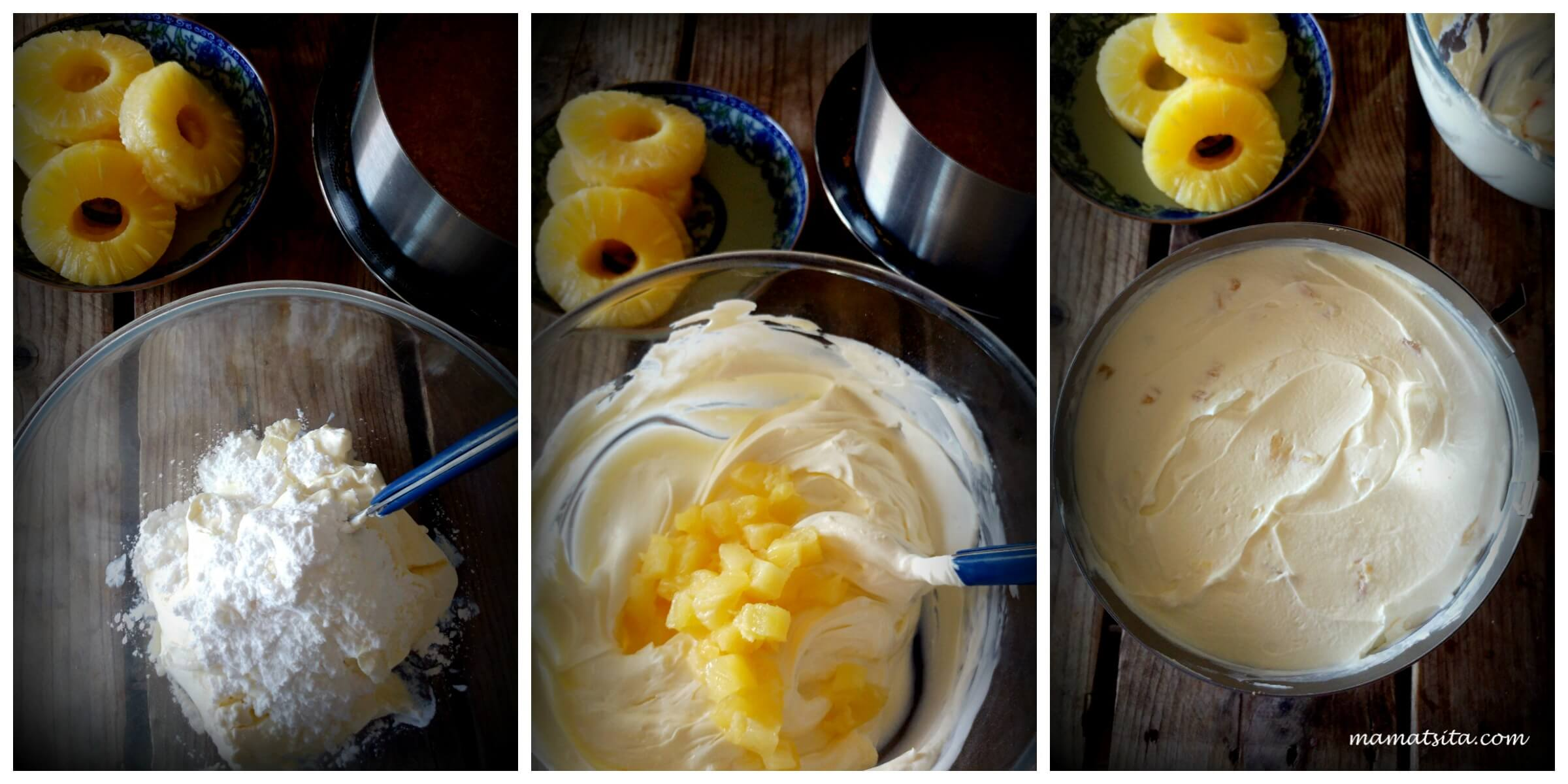 cheesecake ανανάς