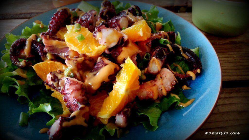Χταπόδι σαλάτα